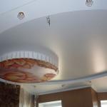 Примеры установки сатиновых натяжных потолков в Рязани