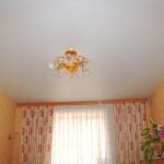 Примеры установки матовых потолков в Рязани