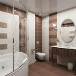 Натяжные потолки в ванной в Рязани